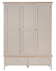Solent Three Door Wardrobe