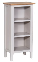 Solent Small Narrow Bookcase