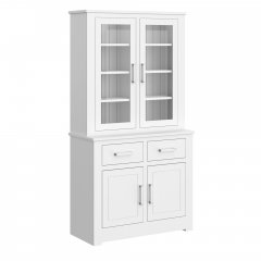 Portland Small Fully Glazed Dresser