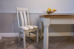Twin Slat Dining Chair