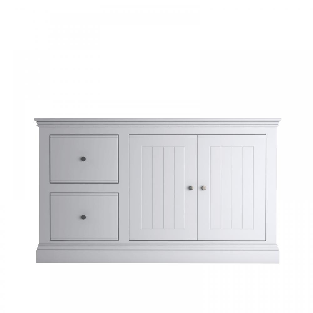 Island Breeze 2 Drawer 2 Door Filing Cabinet