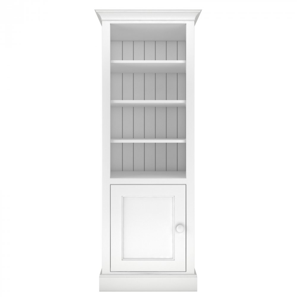 Millbrook Tall Narrow Storage Bookcase