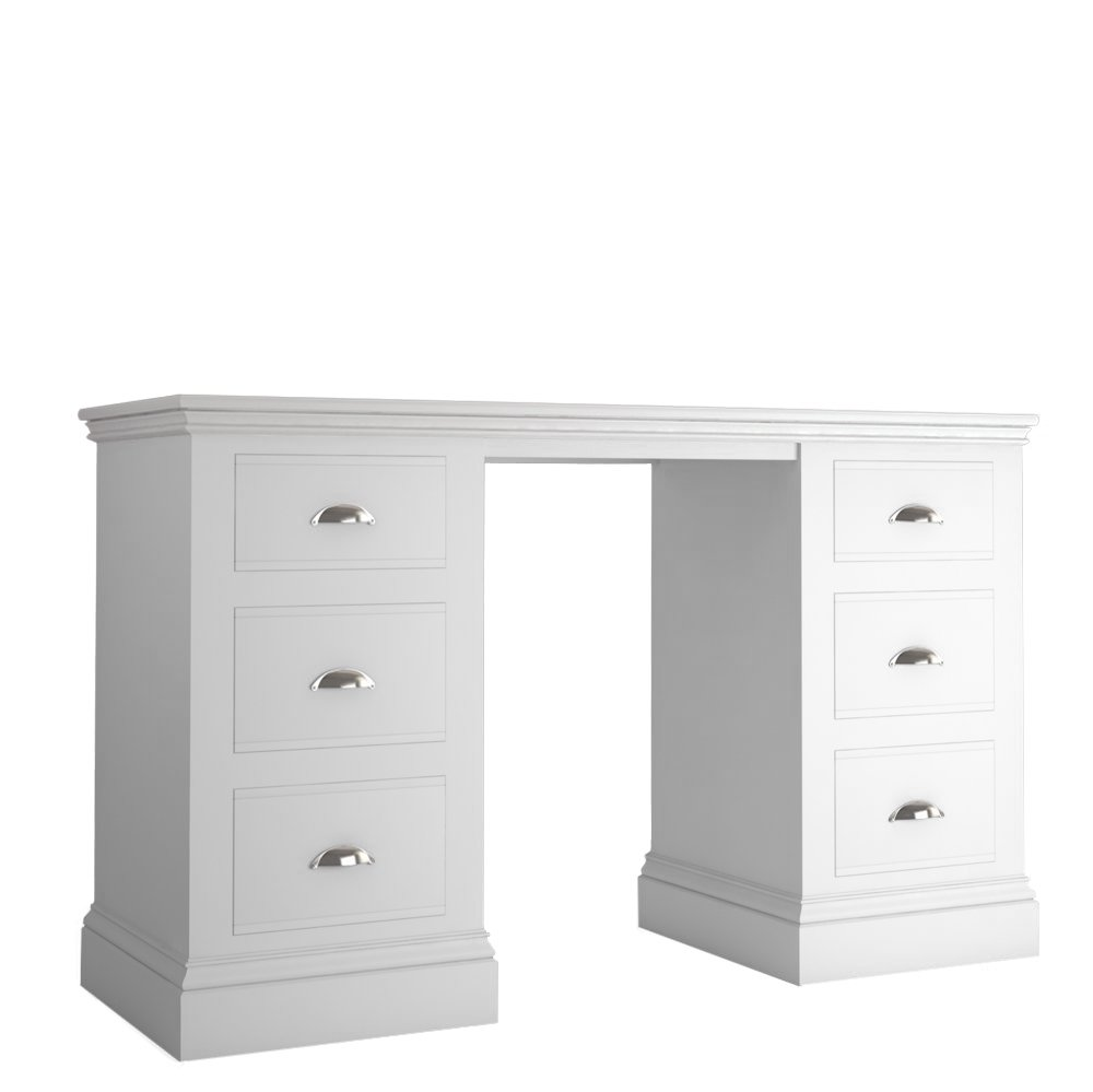 Island Breeze Double Pedestal Dressing Table