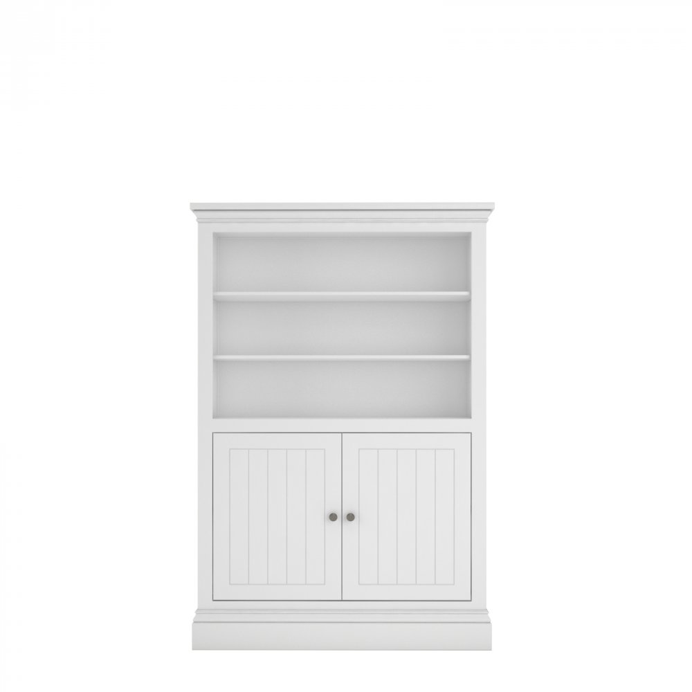Island Breeze Medium Half Panel Bookcase
