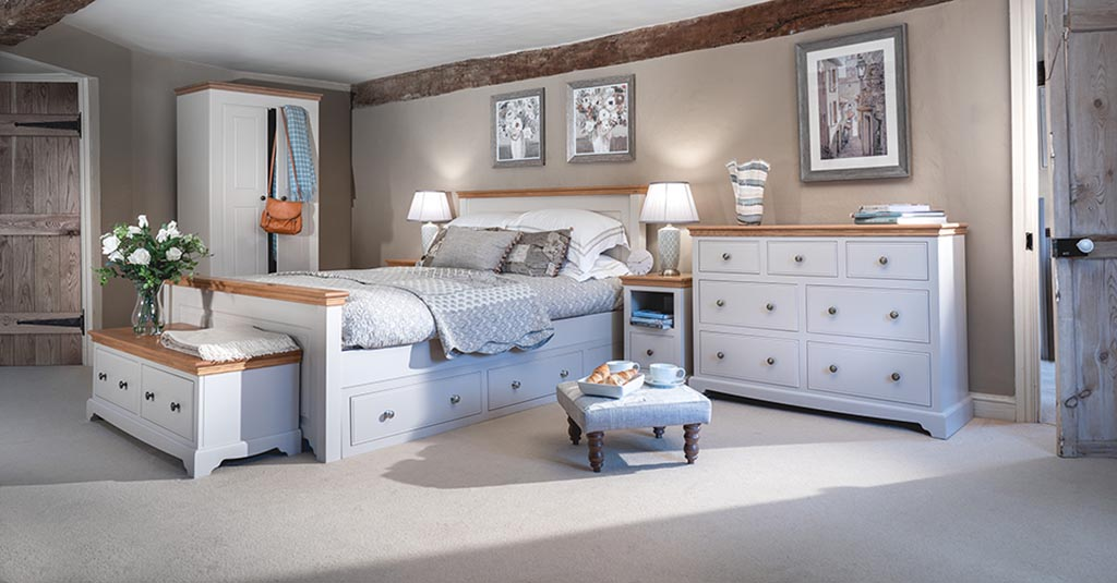 Bedrooms By Collection | Grey, Cream, Ivory Painted Bedroom ...