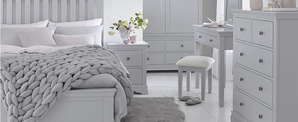 Bedrooms By Collection Grey Cream Ivory Painted Bedroom Furniture