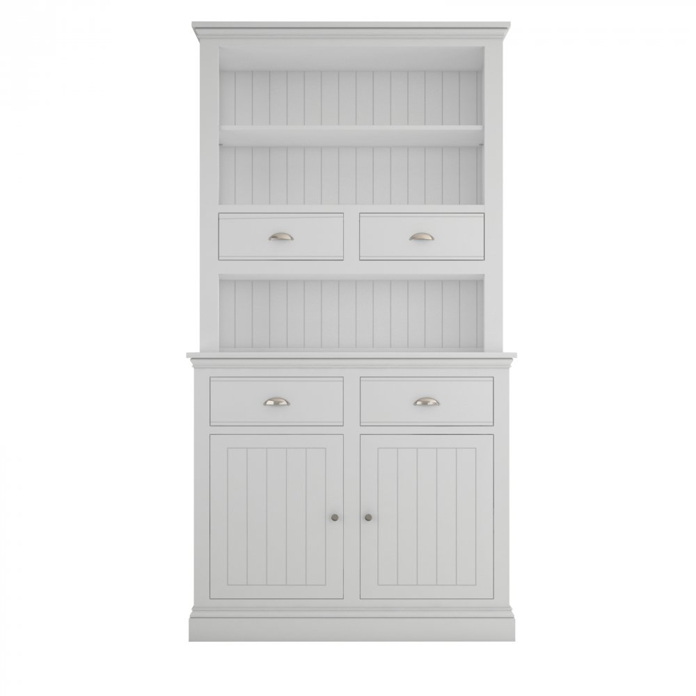 Island Breeze Small Dresser with Open Shelves & Drawers