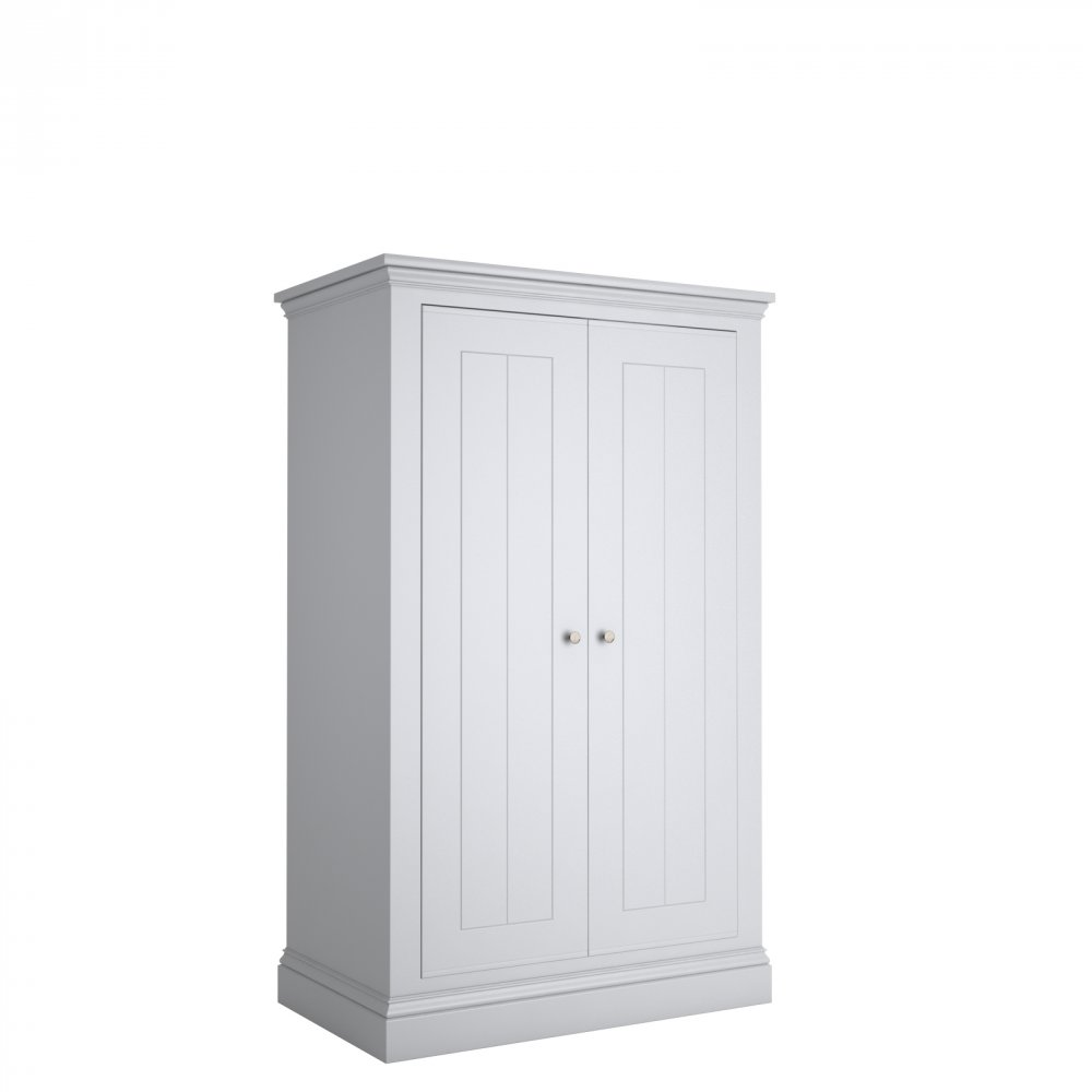Island Breeze Narrow 2 Door Low Wardrobe