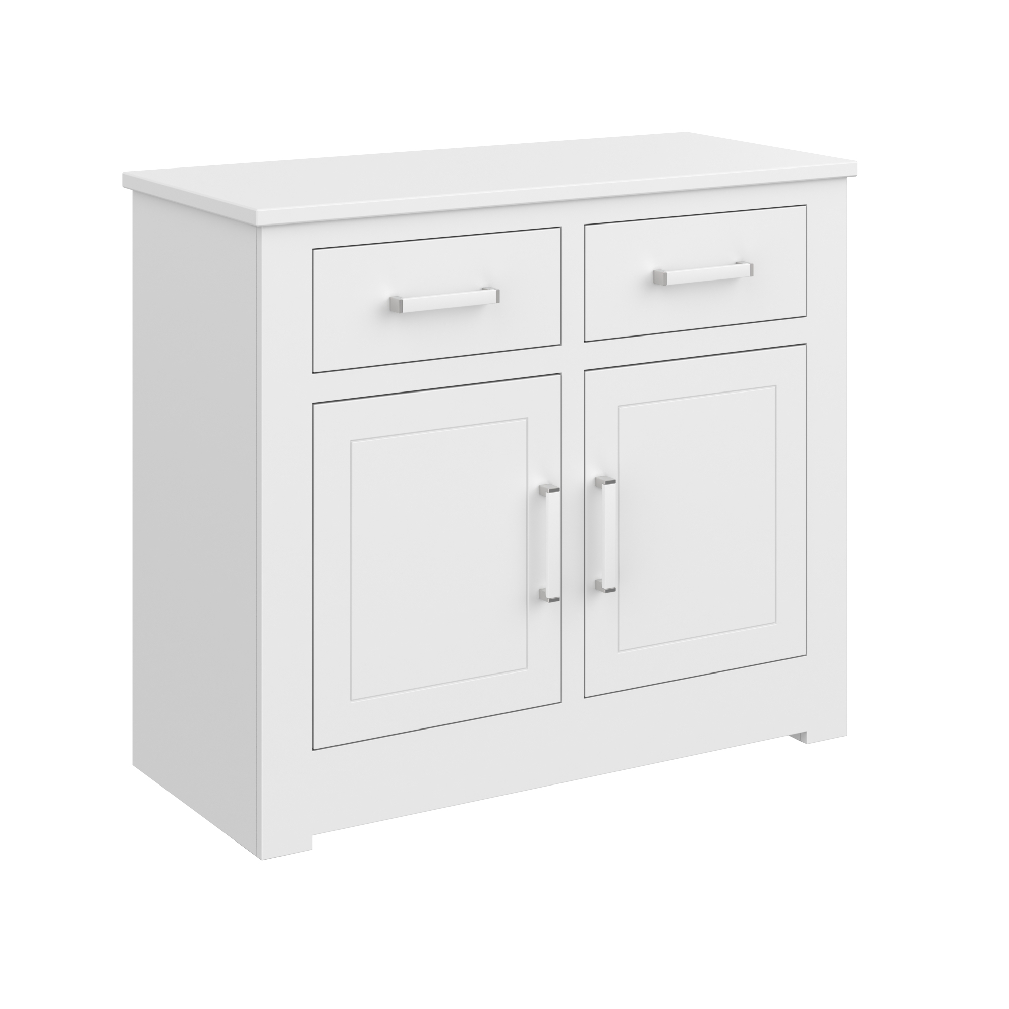 Two Door Two Drawer Base