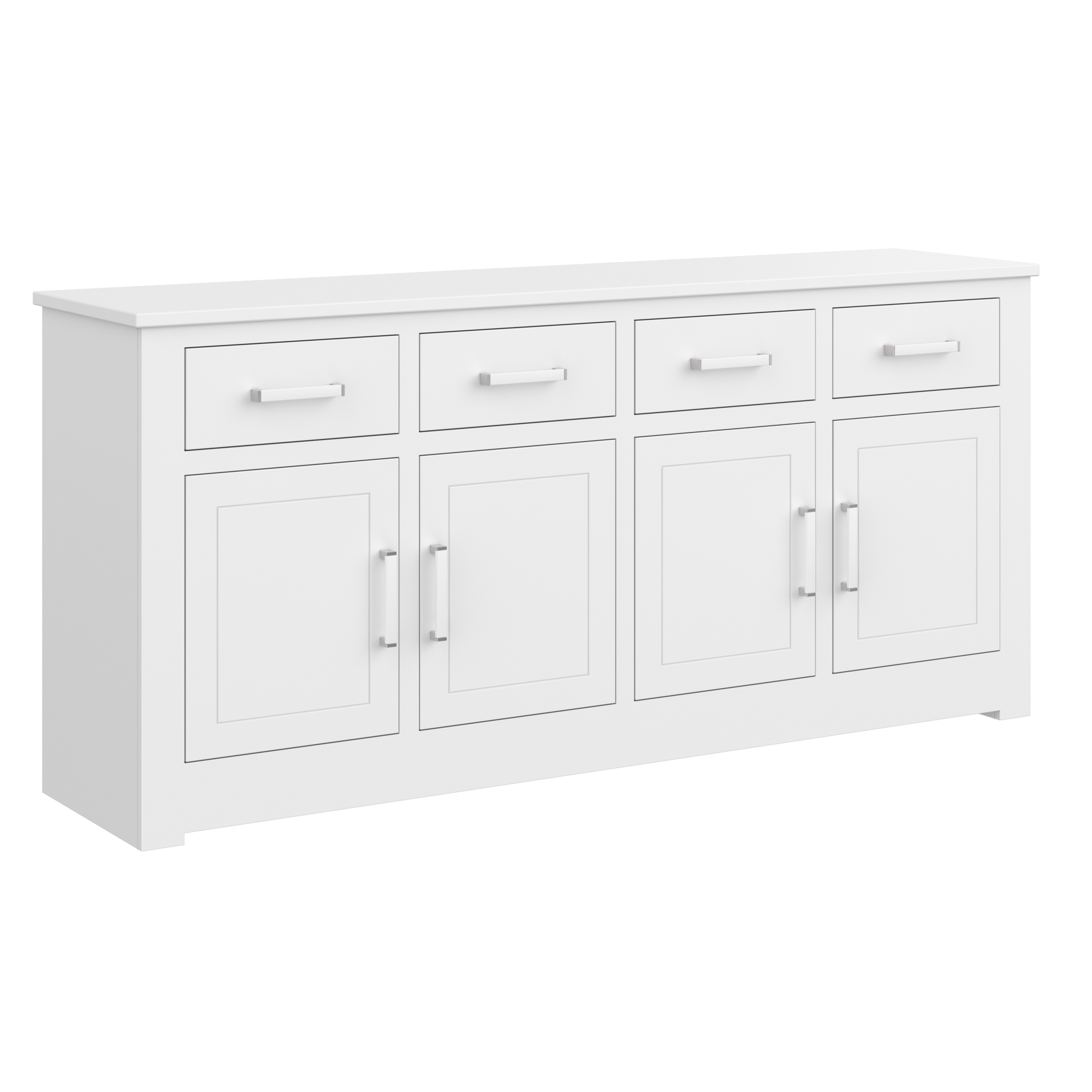 Four Door Four Drawer Base