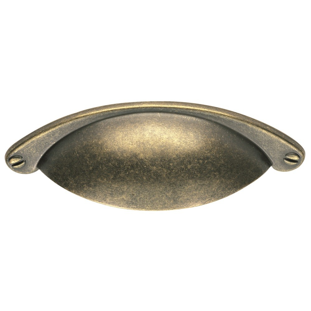 Antique Brass Cup Handle